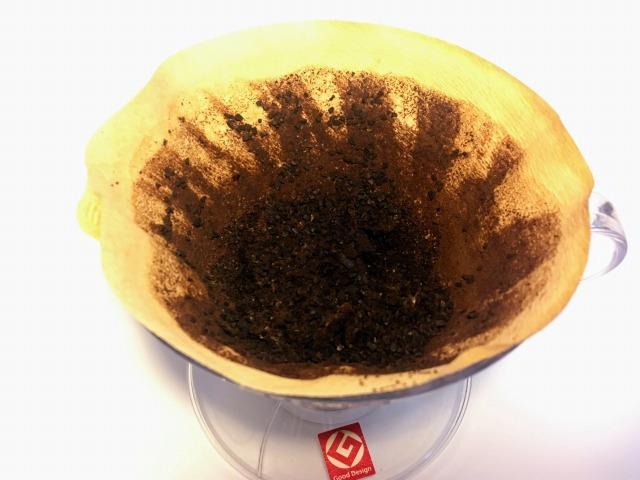 毎回出るコーヒーかす