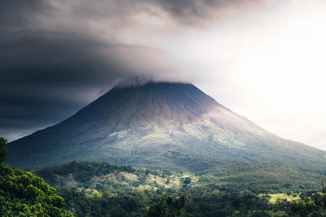 コスタリカの山地